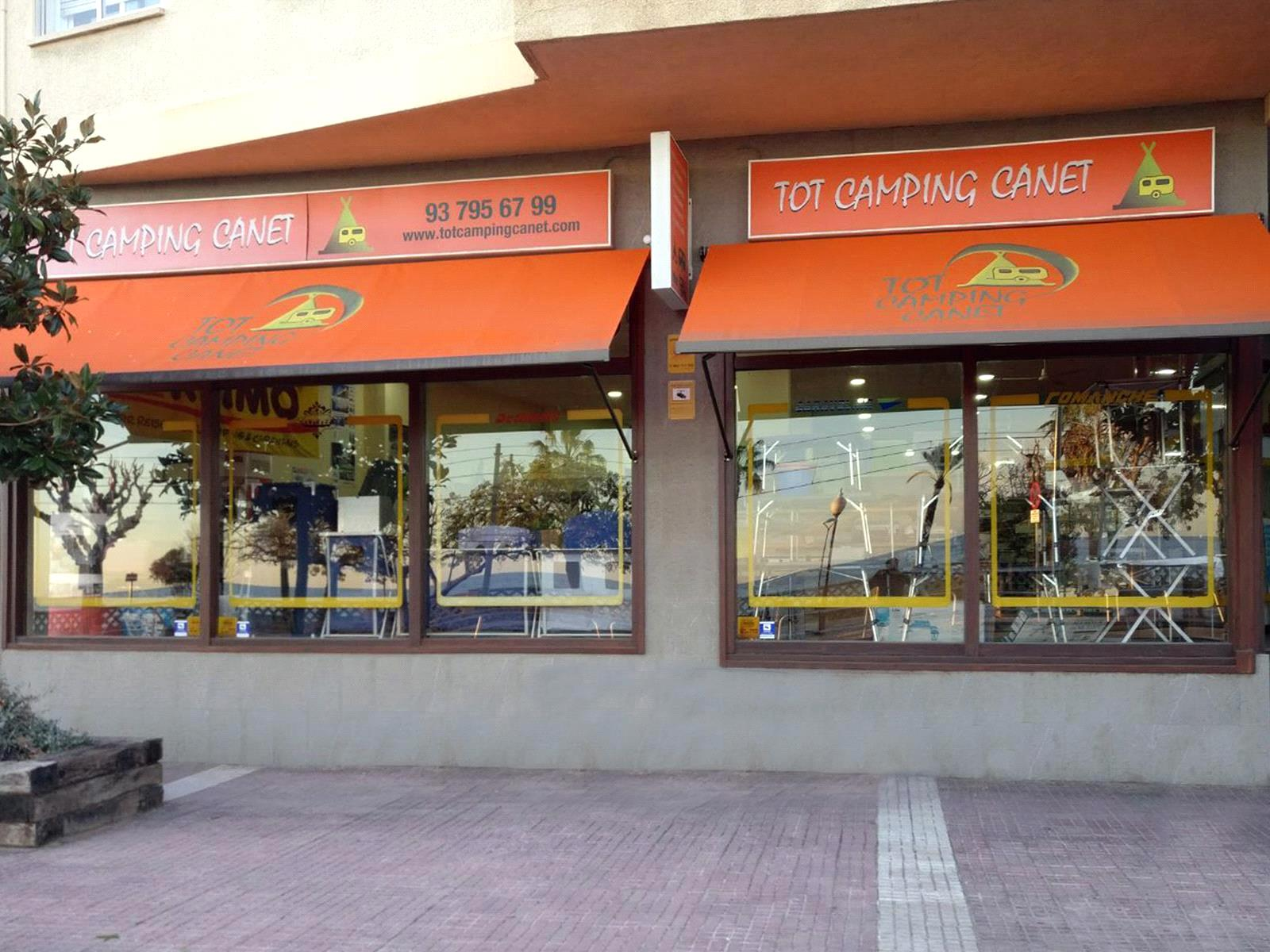 Tot Camping Canet Store In Canet De Mar