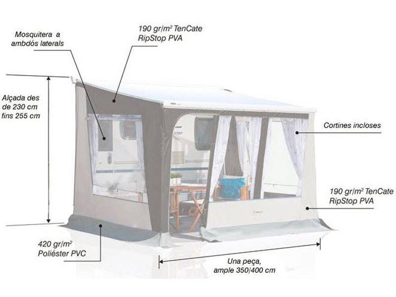Avance venecia tienda on line camping tienda de for Recambios para toldos